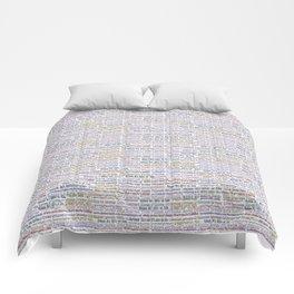 Surrealpete Web Footprint Comforters