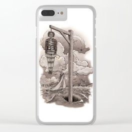 Captain Kidd Clear iPhone Case