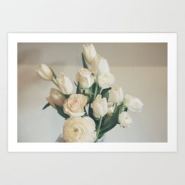 Morning Flowers Art Print