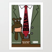 Mr. Bean Art Print