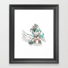 Royal 'T' Framed Art Print