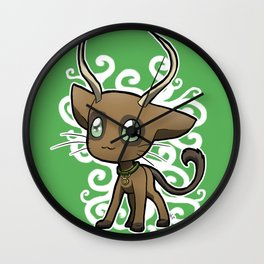 Zodiac Cats - Taurus Wall Clock