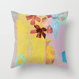 Girl's Room Throw Pillow