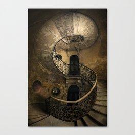 Forgotten Staircase Canvas Print