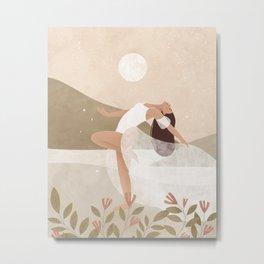 Full Moon Dance Metal Print