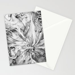 flowering ink Stationery Cards