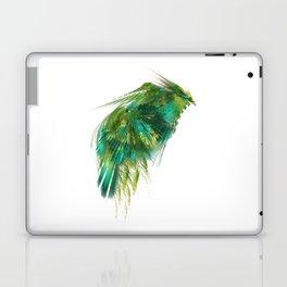 Green Bird - Fractal Art Laptop & iPad Skin