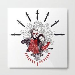 My Mick and Mall Metal Print