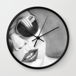 johanna herrstedt Wall Clock