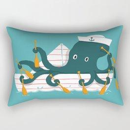 Sailor Octopus Rectangular Pillow