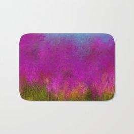 Wildflowers Mod Impressionism Bath Mat