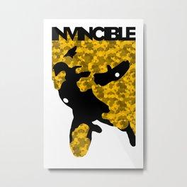 Invincible Metal Print
