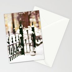 November Snow Stationery Cards