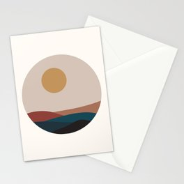 Round View Stationery Cards