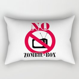 No zombie-box Rectangular Pillow