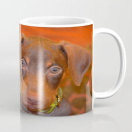 Misha the doberman Coffee Mug