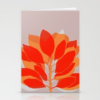 spice Stationery Cards featuring Blossom Spice by Garima Dhawan