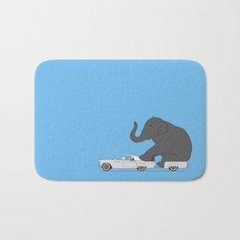 Thunderbird with elephant Bath Mat
