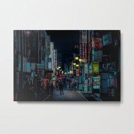 Tokyo Nights / Kabukicho Nights / Liam Wong Metal Print