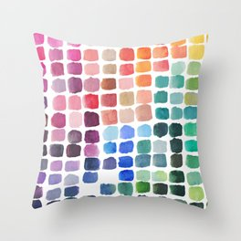 Favorite Colors Throw Pillow