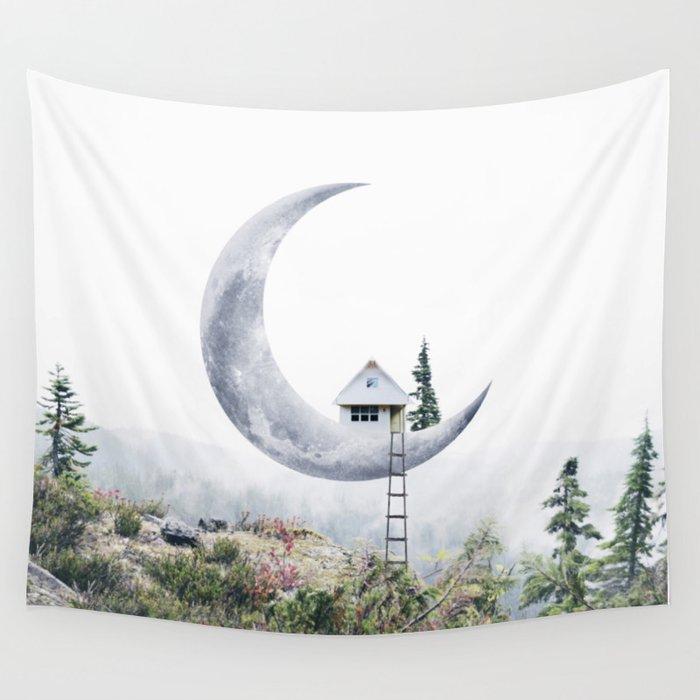 Moon House Wandbehang