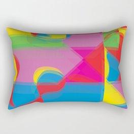 Pop Art Expression Rectangular Pillow