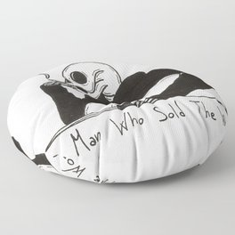 The Man Who Sold the World Floor Pillow
