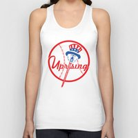 yankees Tank Tops featuring the NY uprising by Jacekeller