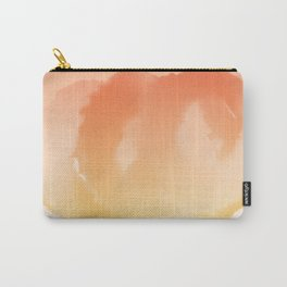 Fluffy Circles - Orange Carry-All Pouch