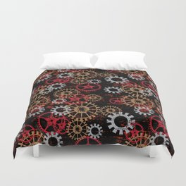 For the Love of Gears Duvet Cover