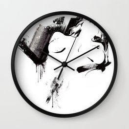 Nude Beauty #3 Wall Clock