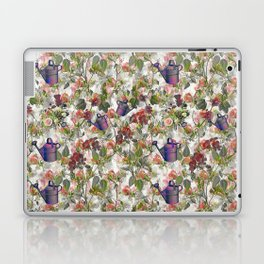 Floral with Watering Can Laptop & iPad Skin