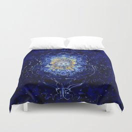 Mad Scientist Duvet Cover