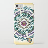 mandala iPhone & iPod Cases featuring Mandala by famenxt