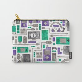 Nerdy Gamer Pattern Carry-All Pouch