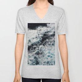 Ocean Painting Unisex V-Neck