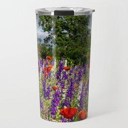 Dark Skies & Wildflowers Travel Mug