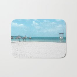 Turquoise Beach Bath Mat