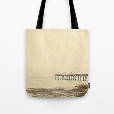 Early Venice Pier Day ... Tote Bag