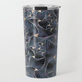 Reverie (in Grey and Gold) Travel Mug