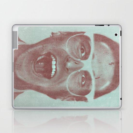 Patrick Bateman - The Hipster (Feat. Marta Macedo) Laptop & iPad Skin