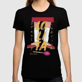 Lolita, Stanley Kubrick movie poster, Vladimir Nabokov, book cover, Loleeta T-shirt