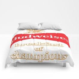 BREAKFAST OF CHAMPIONS Comforters