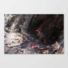 Dino Meal Canvas Print