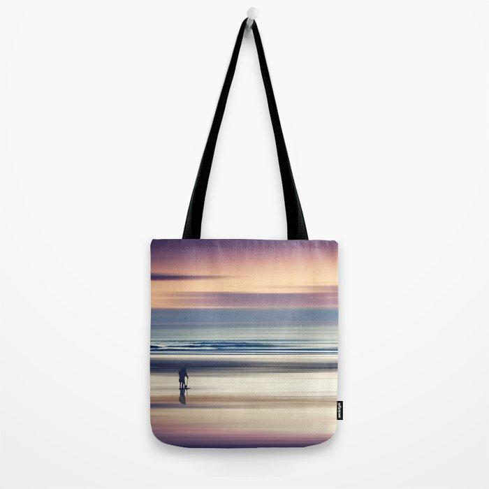 Sharing the Magic - abstract seascape at sunset Tote Bag