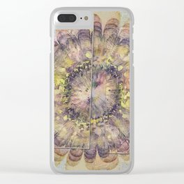 Consuetudinal Daydream Flowers  ID:16165-022110-37471 Clear iPhone Case