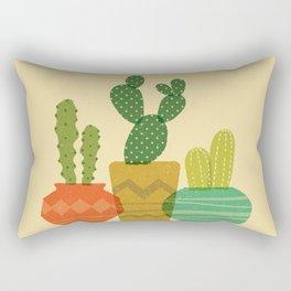 Cactus Trio Rectangular Pillow
