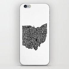 Typographic Ohio iPhone & iPod Skin