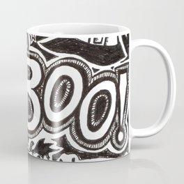 Boo! Happy Halloween! Coffee Mug