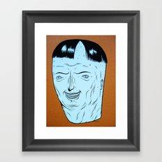 m.h.n.#4 Framed Art Print